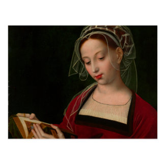 The Magdalen reading by Ambrosius Benson Postcard