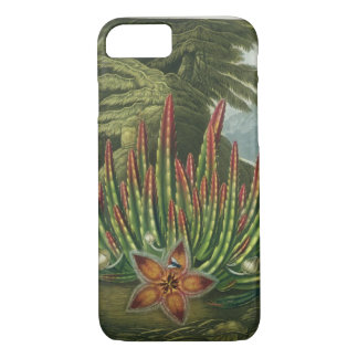 The Maggot-Bearing Stapelia, engraved by Stadler, iPhone 7 Case