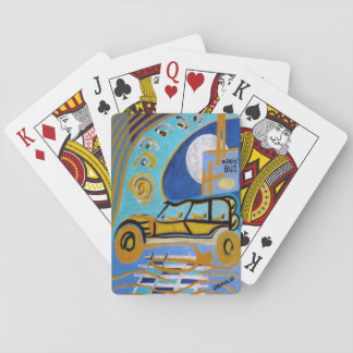 THE MAGIC BUS STANDARD DECK OF PLAYING CARDS