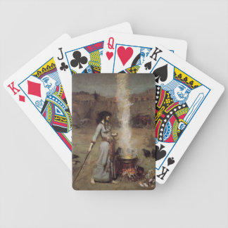 The Magic Circle [John William Waterhouse] Poker Deck