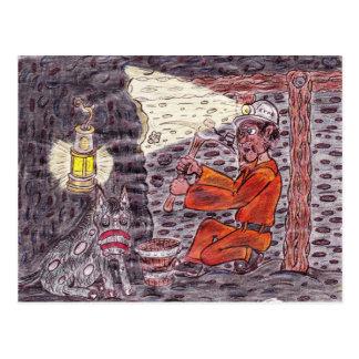 The Magic miner Postcard