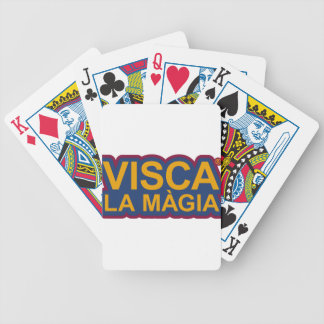THE MAGIC OF BARCELONA BICYCLE PLAYING CARDS