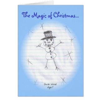 The Magic of Christmas... Card