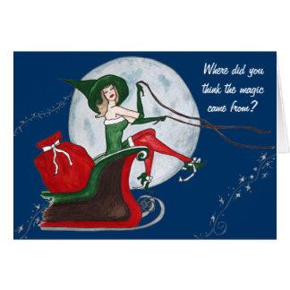 The magic of Christmas Card