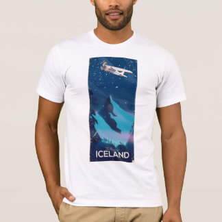 The Magic of Iceland travel poster T-Shirt