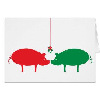 The Magic of Mistletoe, Holiday Card