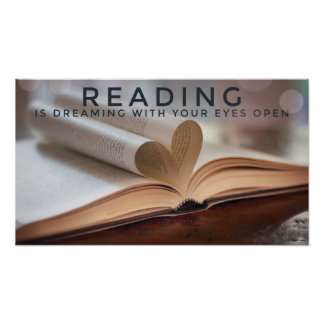 The Magic of Reading Poster