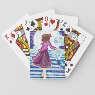 The magic with in playing cards