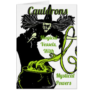 The Magical Cauldron Card