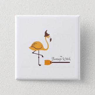 The magical flamingo button