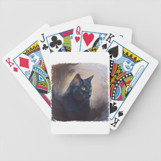 The Magical Van Goh Cat Bicycle Playing Cards