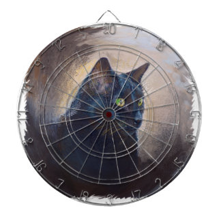 The Magical Van Goh Cat Dartboard