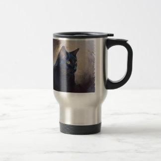 The Magical Van Goh Cat Travel Mug