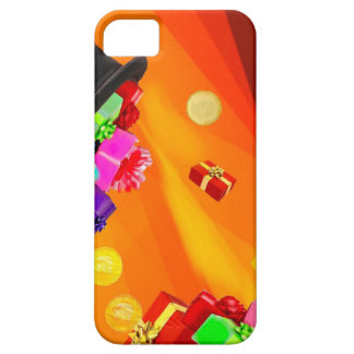 The magician hat brings golden gifts to you. iPhone 5 case