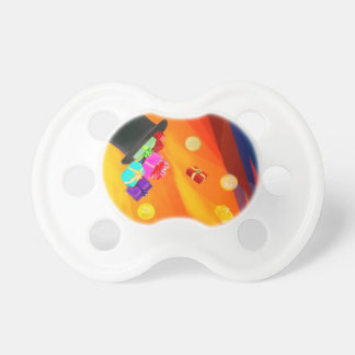 The magician hat brings golden gifts to you. pacifier