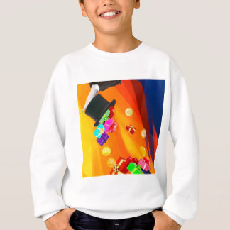 The magician hat brings golden gifts to you. sweatshirt