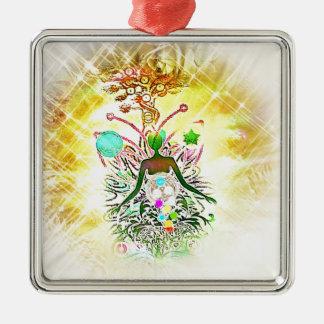 The Magician Metal Ornament
