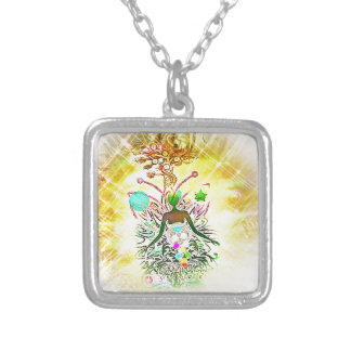 The Magician Silver Plated Necklace