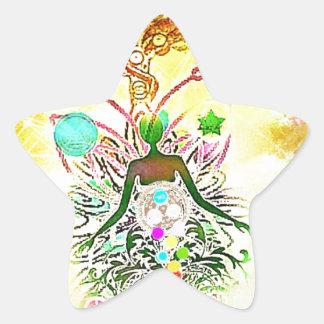 The Magician Star Sticker