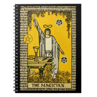 The Magician Tarot Card Notebook