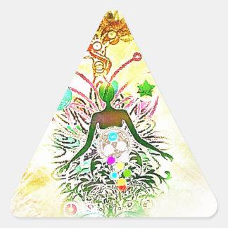 The Magician Triangle Sticker
