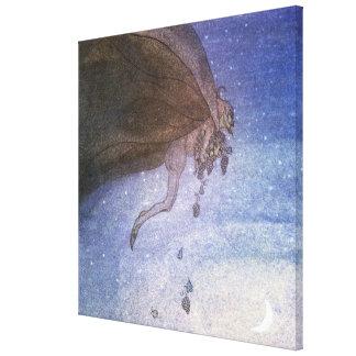 The Magicians Cape by John Bauer Canvas Print