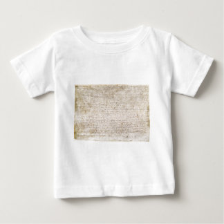 The Magna Carta of 1215 Charter of Liberties Baby T-Shirt
