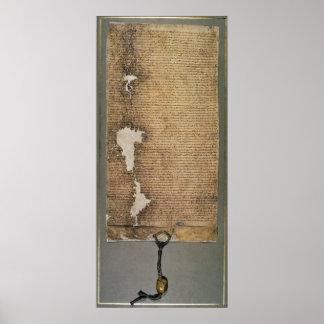 The Magna Carta of Liberties, Third Version Poster