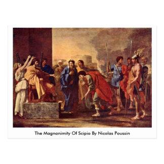 The Magnanimity Of Scipio By Nicolas Poussin Postcard