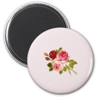The magnet whose three roses are round