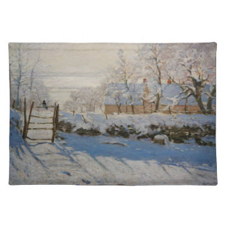 The Magpie La Pie by Claude Monet Placemat