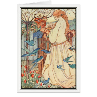 The Maiden Song by Florence Harrison Card