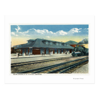 The Maine Central Railroad Station Postcard