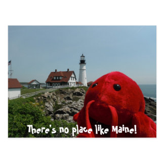 The Maine Line Postcard