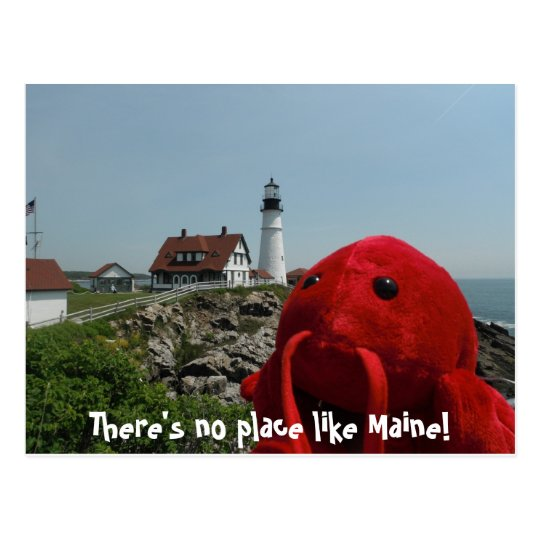 The Maine Line Postcard
