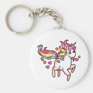 The Majestic Llamacorn Keychain