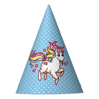 The Majestic Llamacorn Party Hat