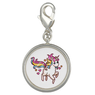 The Majestic Llamacorn Photo Charm