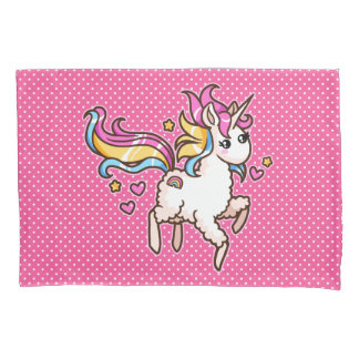 The Majestic Llamacorn Pillowcase