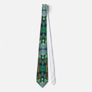 The Malkin Jewel Fractal Tie