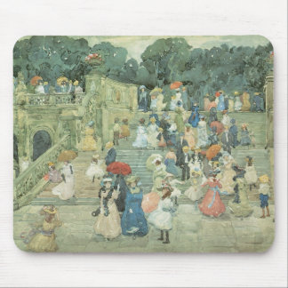 The Mall, Central Park by Maurice Prendergast Mouse Pad
