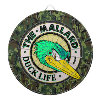 The Mallard Duck Woodland Camo Dartboards
