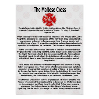 The Maltese Cross Poster