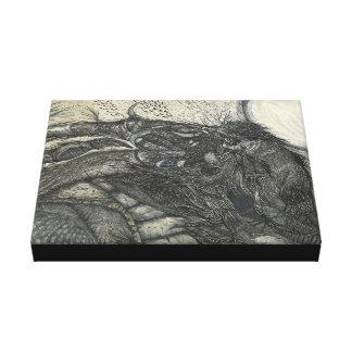 The Mammoth-Bird (Canvas Print) Canvas Print