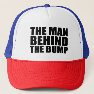 The man behind the bump funny dad to be hat