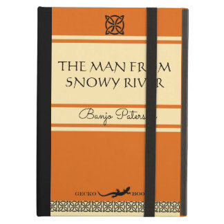 The Man From Snowy River Retro Book Cover