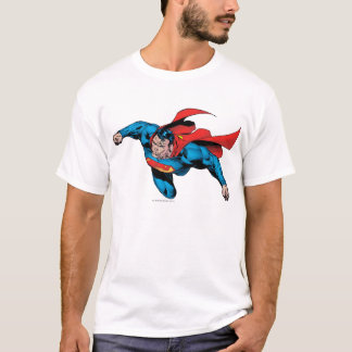 The Man of Steel Comic Style T-Shirt