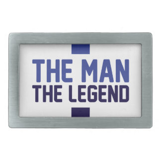 The Man The Legend Belt Buckles