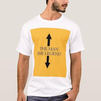 The man / The legend blk/gold T-Shirt