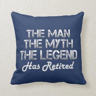 THE MAN - THE MYTH - THE LEGEND THROW PILLOW